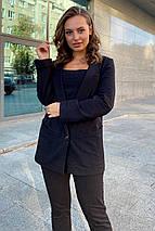 пиджак женский Modus Редми трикотаж двунитка турция тонкий жакет 9638, фото 2