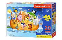 Пазлы Castorland maxi Ноев ковчег 20 элементов С-02245