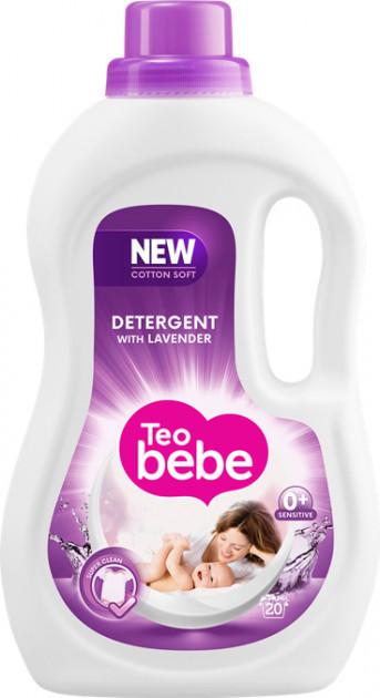 Гель для прання ТЕО bebe Soft Cotton Lavender 1.1 л