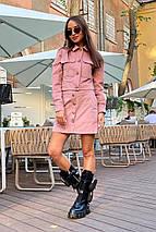 юбку Modus Ньюарк микровельвет юбка 9681, фото 2
