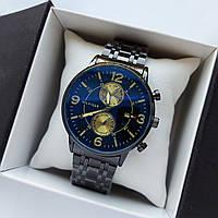 Мужские наручные часы Tommy Hilfiger черного цвета, антибликовое покрытие, дата - код 1726, фото 1
