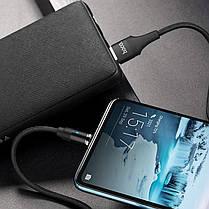Кабель USB Hoco U76 Magnetic Type-C Cable 1.2 M Black, фото 2