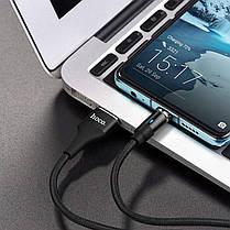 Кабель USB Hoco U76 Magnetic Type-C Cable 1.2 M Black, фото 3