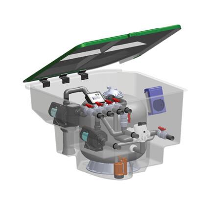 Emaux Комплексная фильтрационная установка Emaux EMD-7C (7м3/ч)