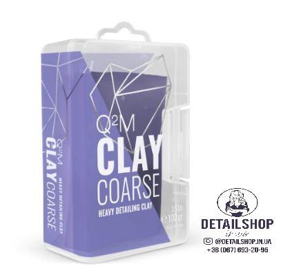GYEON Q²M Clay Coarse - сильноабразивная глина