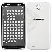 Корпус для Lenovo S820 - оригинал (белый)