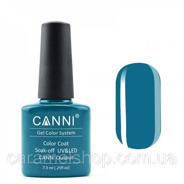 Гель-лак CANNI 157 темно-синяя бирюза, 7,3 ml