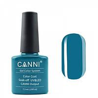 Гель-лак CANNI 157 темно-синяя бирюза, 7,3 ml, фото 1