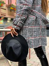 Стильне жіноче пальто утеплене на запах 42-46 р, фото 2
