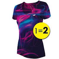 Футболка женская 4F Fitness L blue 1=2 W (H4L19-TSDF007)