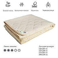 Одеяло облегченное двуспальное Комфорт (100% овечья шерсть,172х205 см) ТМ Руно 316.52ШКУ, фото 1