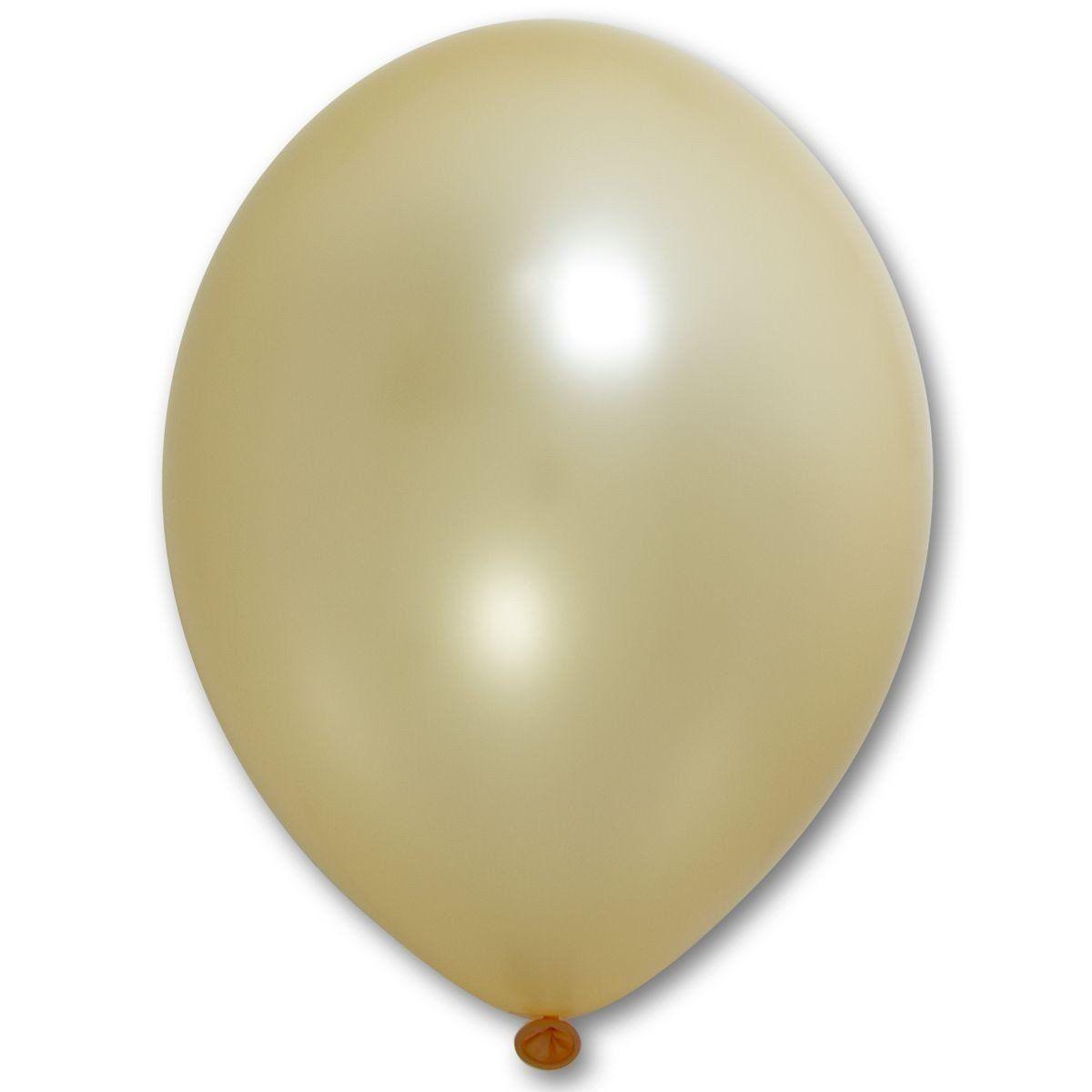 "Шар 12"" BELBAL-ББ металлик 075 персиковый"