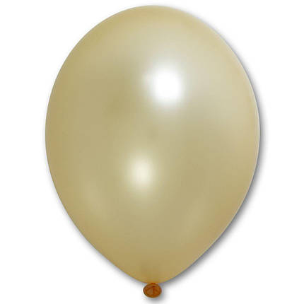 "Шар 12"" BELBAL-ББ металлик 075 персиковый, фото 2"