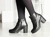 Женские осенне-весенние ботинки кожаные 38,40,41, фото 1
