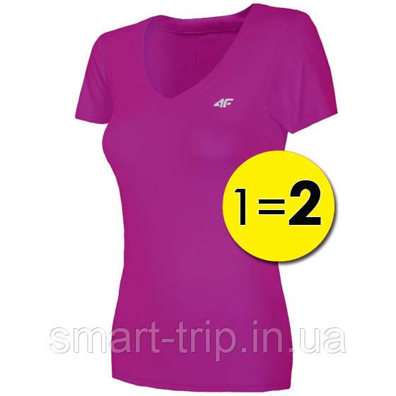 Футболка женская 4F Fitness M pink 1=2 W (H4L19-TSDF003)