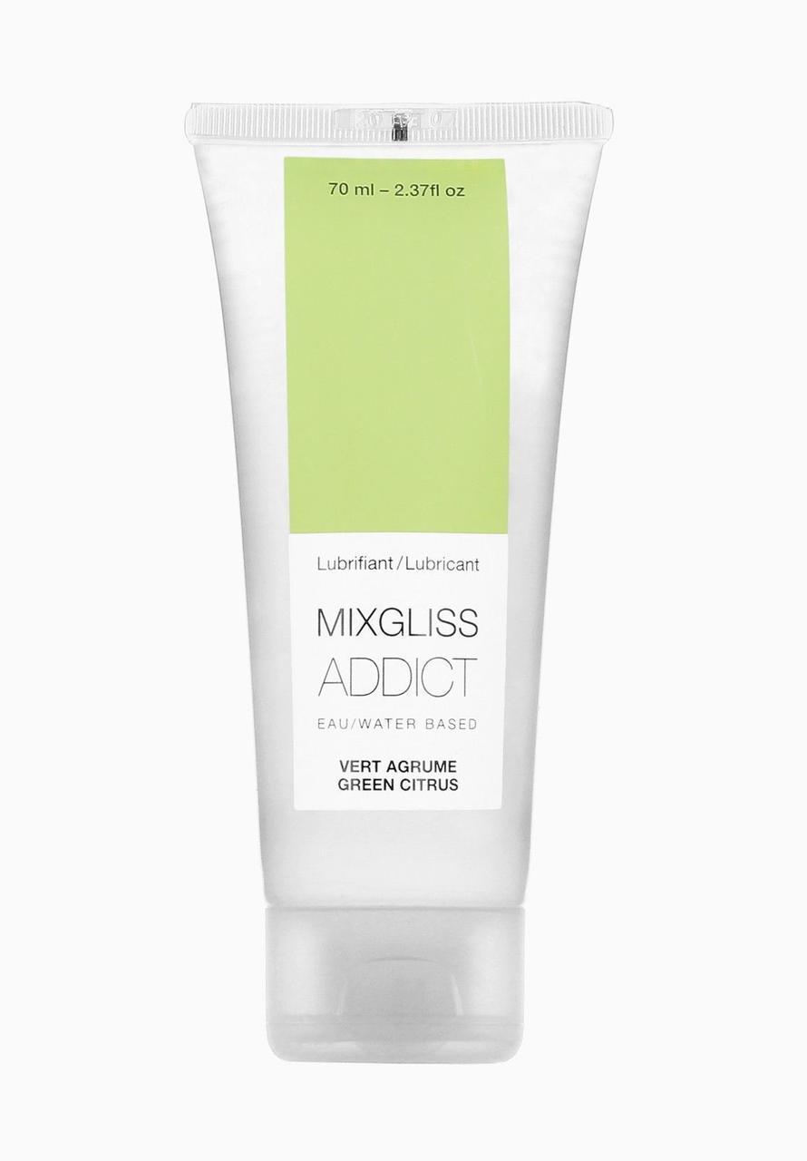 Лубрикант на водной основе MixGliss Addict Green Citrus (70 мл) Лайм