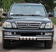 Кенгурятник Грейдер на Toyota Land Cruiser 100 (1997-2007)