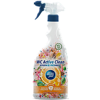 Универсальное средство для чистки туалета и ванной комнаты Ambi Pur WC Botanical Fragrances Цитрус и водная