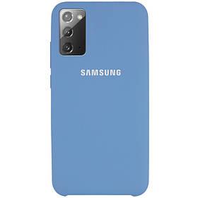 Чехол Silicone Cover (AAA) для Samsung Galaxy Note 20