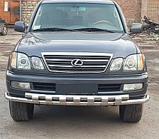 Кенгурятник Shark на Toyota Land Cruiser 100 (1997-2007)