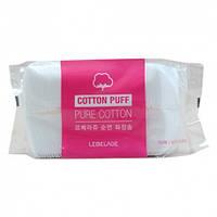 Паффы Lebelage Cotton Puff Pure Cotton 100 шт