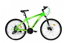"""Велосипед 26 МТВ ST CROSSRIDE """"SKYLINE"""", сталь, дисковые тормоза, 21 скорость (черный, салатовый, оранжквый)"""