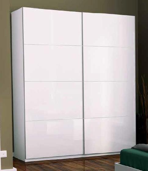 Шкаф-купе Белла 2,5  Миро-Марк (двери глянец белый)