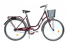 """Велосипед 28 Дорож. CT """"RETRO"""" с корзиной (+ насос)"""
