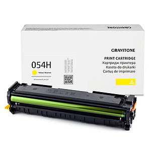 Совместимый картридж Canon i-Sensys MF643Cdw (MF-643cdw) 3102C008, жёлтый, 2.300 копий, аналог от Gravitone