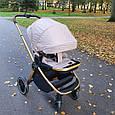 Детская Универсальная коляска 2 в 1 CARRELLO Epica (Каррелло Эпика) Almond Beige, фото 10