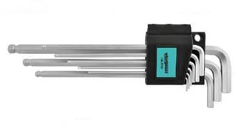 Набор ключей-шестигранников HEX Whirlpower 158-5709 с шаром, 6 ед.