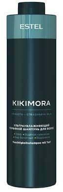 Ультразволожуючий торф'яної бальзам для волосся KIKIMORA 1Л