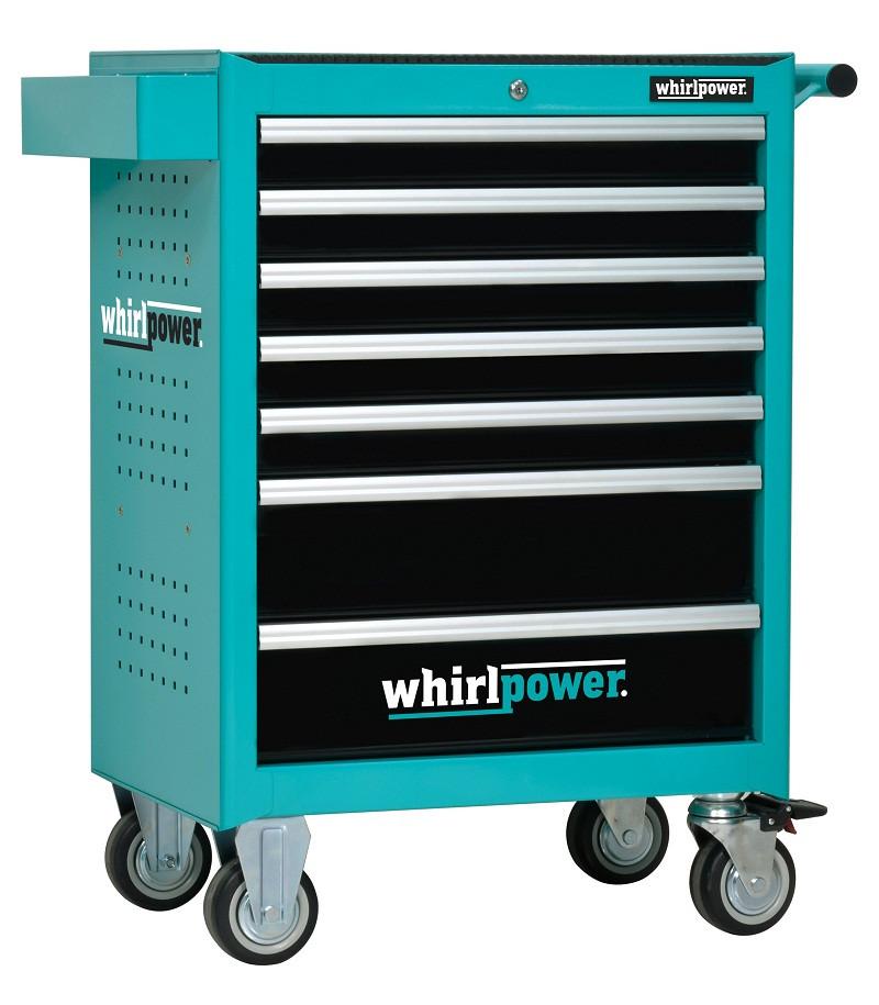 Набор инструментов Whirlpower 224 ед.(ящик-тумба на колесах)