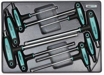 Набор ключей-звездочек TORX Whirlpower AN-TH02, 8 ед.