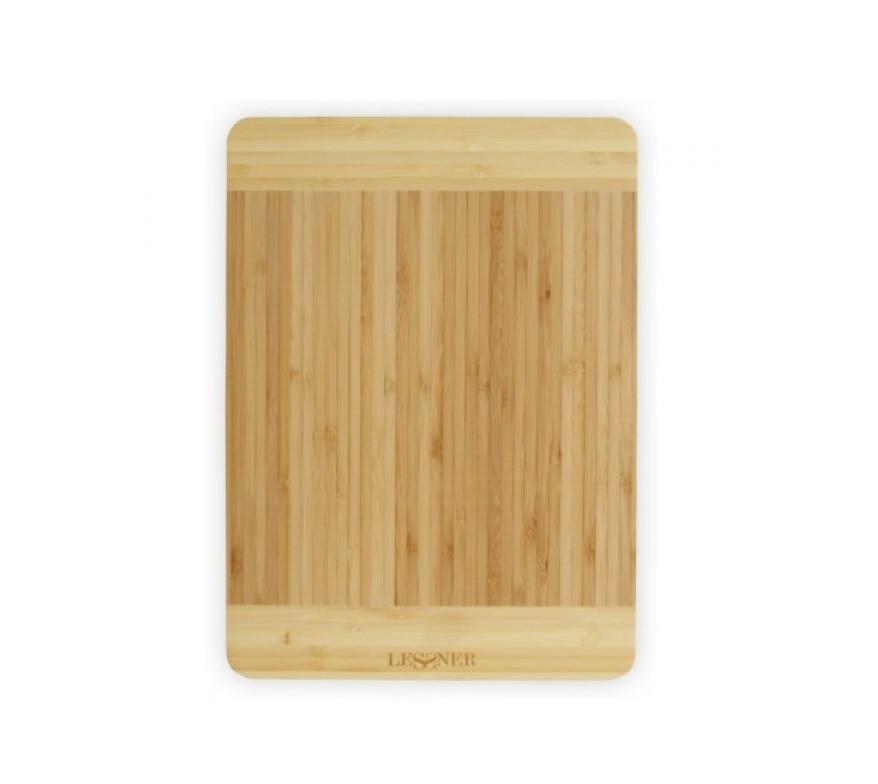 Разделочная доска бамбуковая Lessner 34х24 см 10300-34