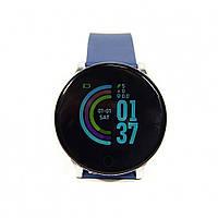 Умные часы с фитнес трекер SmartWatch S9 Синий
