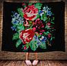 Плед з 3D принтом - Бабусини квіти