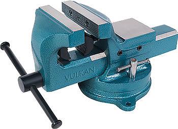 Тиски Vulkan MPVS-125 слесарные поворотные 125 мм
