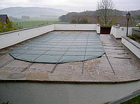 Зимнее накрытие для консервации стекловолоконного бассейна