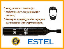 Краска для волос ESTEL ALPHA HOMME 1/0 (Эстель Альфа Хом 1/0) пена против седины,
