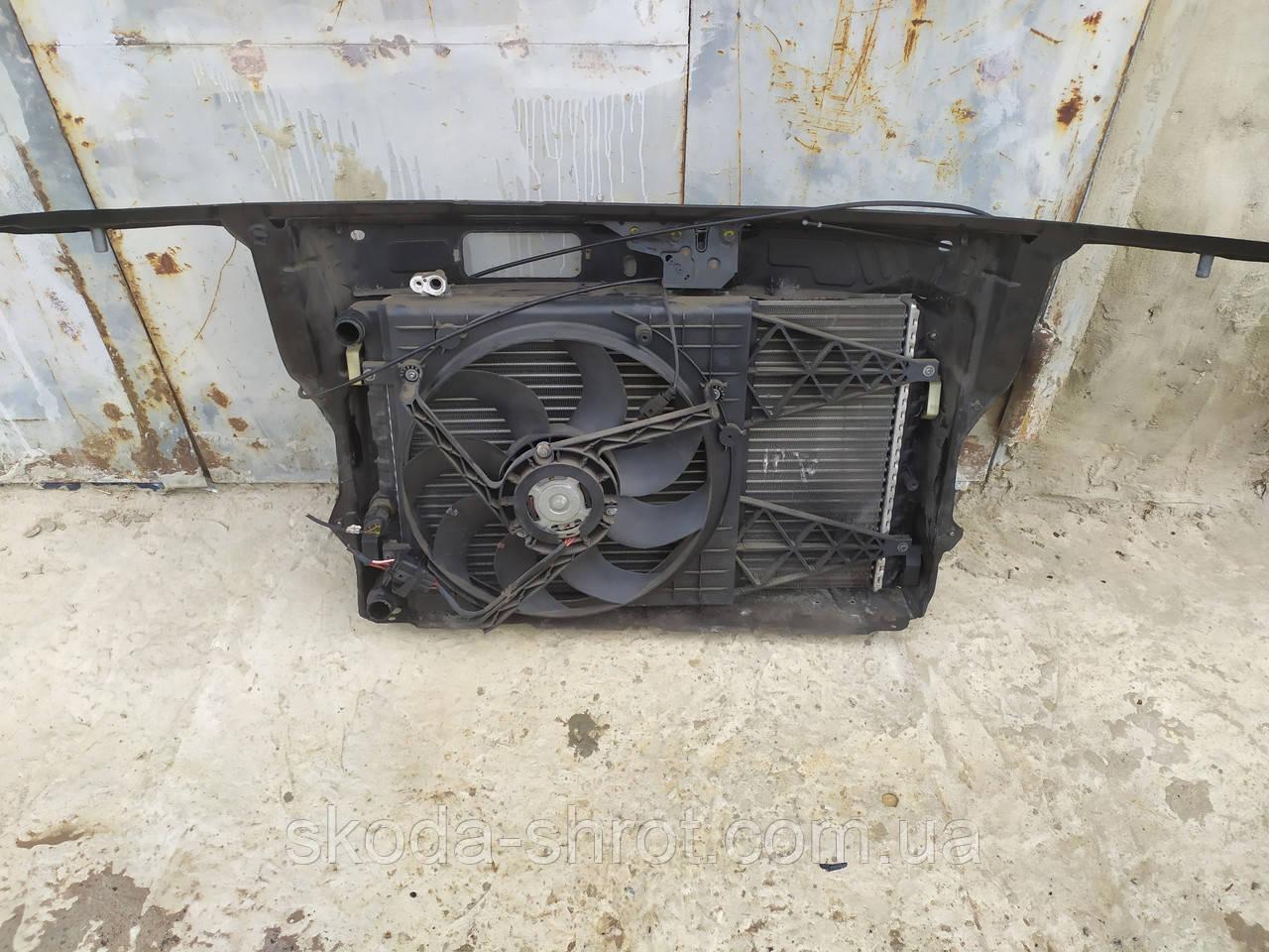 Вентилятор радиатора фабия -2 6Q0959455AE