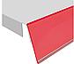 Червоний Цінникотримач планка DBR-39 самоклеючий / стелажний, фото 2