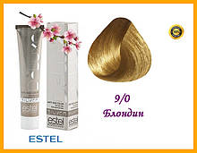 Крем-краска для седых волос Estel SILVER DE LUXE Эстель 9/0 Блондин,