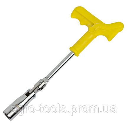 Ключ свечной с шарниром усиленный 16мм SIGMA (6030321), фото 2