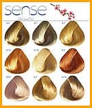 Полуперманентная крем-краска без аммиака Estel Sense De Luxe 9/1 Блондин пепельный,, фото 3