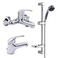 Набор смесителей для ванны BIANCHI Star KITSTR2021SACRM (KITSTR 2021SA)