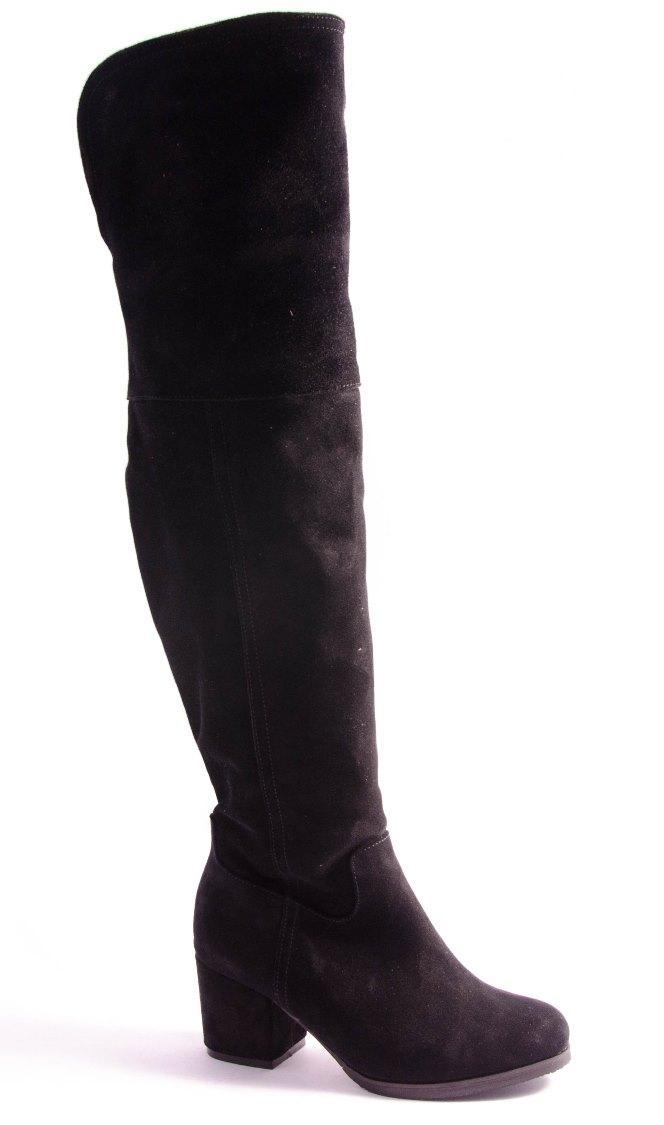 Сапоги женские черные Madiro 9723