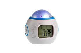 Годинник – музичний будильник, проектор зоряного неба на батарейках