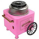 Аппарат для приготовления сладкой ваты на колесиках, фото 4