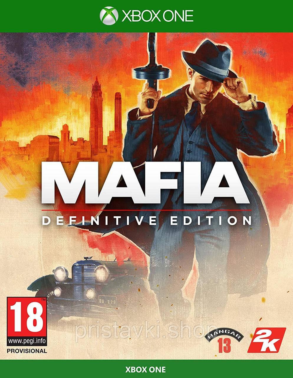 Mafia: Definitive Edition XBOX ONE \ XBOX Seires X